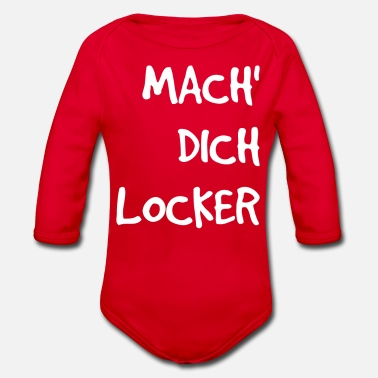 Locken Mach dich locker - Baby Bio-Langarm-Body