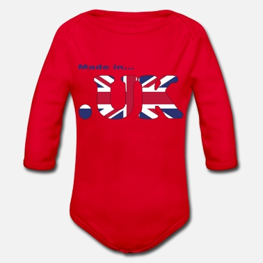 Uk made in uk - Baby Bio Langarmbody