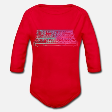 Synthesizer Synthesizer - Organic Longsleeve Baby Bodysuit
