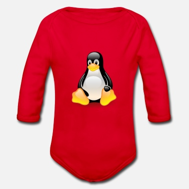 Linux Linux - Organic Long-Sleeved Baby Bodysuit
