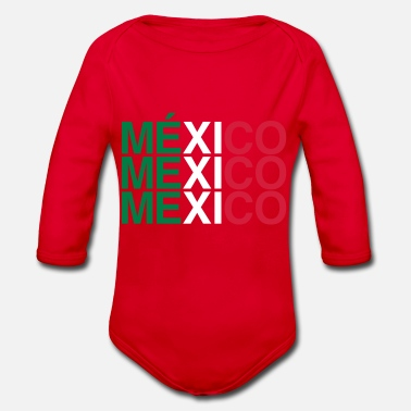 Mexico MEXICO - Organic Long-Sleeved Baby Bodysuit