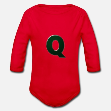 Q Q - Organic Long-Sleeved Baby Bodysuit