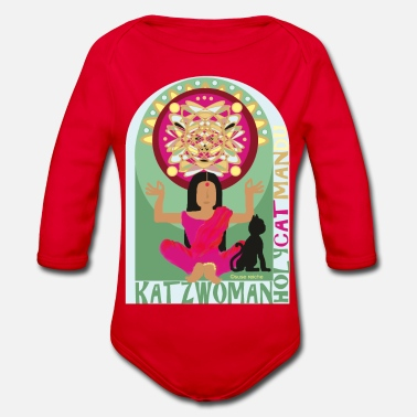 Nepal KATZ WOMAN Catmandu - Organic Long-Sleeved Baby Bodysuit