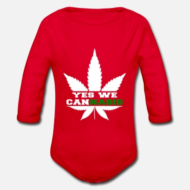Yes We Cannabis Yes we Cannabis - Baby Bio Langarmbody