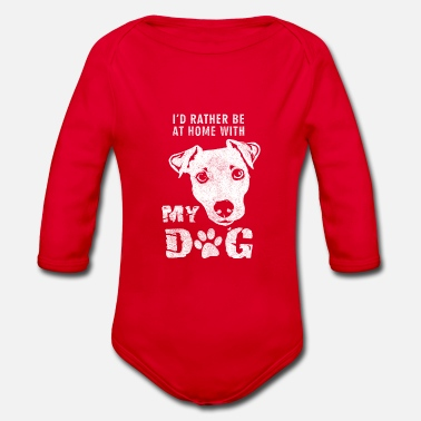 Dog Owner Dog owner Dog lover Dog owner - Organic Long-Sleeved Baby Bodysuit