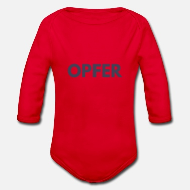 Off OFFER - Ekologisk långärmad babybody