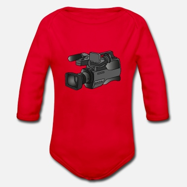 Video Video camera - Organic Long-Sleeved Baby Bodysuit