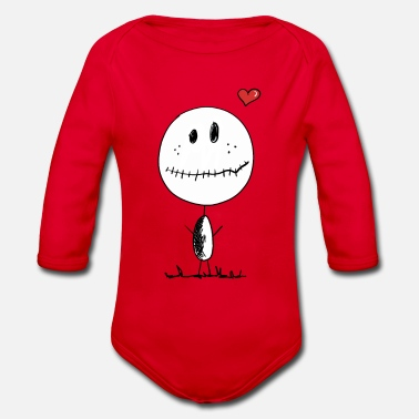 Little Man Little Man  - Organic Longsleeve Baby Bodysuit