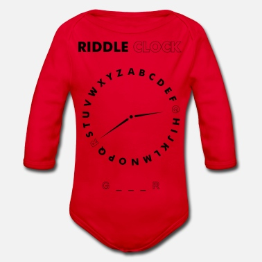 Riddle Clock Gamer - Baby Bio Langarmbody