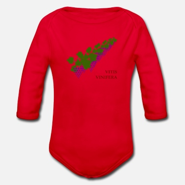 Wine wine wine - Organic Long-Sleeved Baby Bodysuit