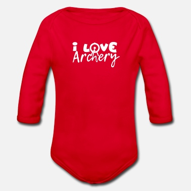 Archer Archery - Archer - Archery - Organic Long-Sleeved Baby Bodysuit