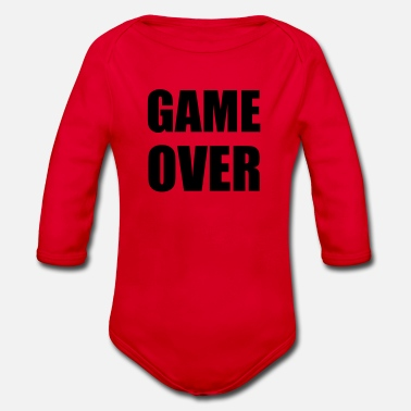 Game Over game over - Rompertje met lange mouwen