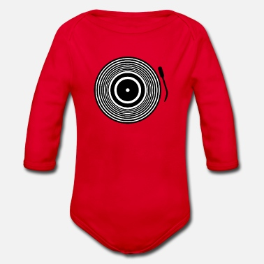 Record Champion record - Organic Long-Sleeved Baby Bodysuit
