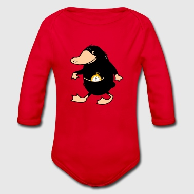 Beak animal - Organic Longsleeve Baby Bodysuit