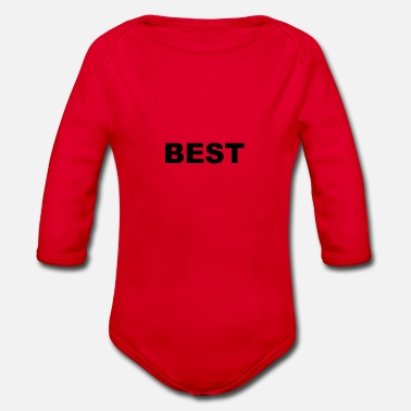The Best BEST I Only for the best of the best - Organic Long-Sleeved Baby Bodysuit