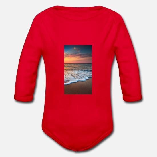 Vacation Baby Clothes - magazine unlock 05 2 3 1117 8F4F4362879254673D9E7. - Organic Long-Sleeved Baby Bodysuit red