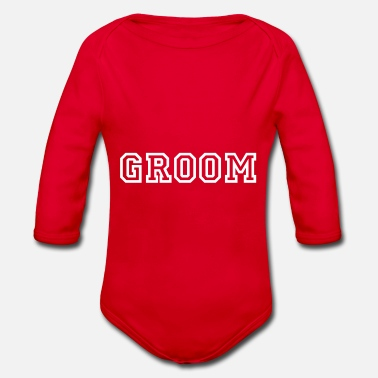 Groom GROOM - Organic Long-Sleeved Baby Bodysuit