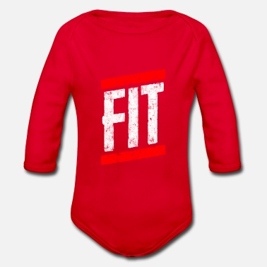 Fitness Fitness fit - Organic Long-Sleeved Baby Bodysuit