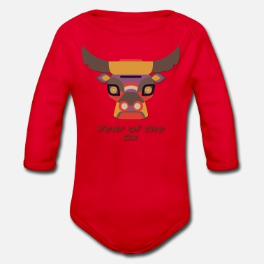 Years Year of the Ox - Year of the Ox - Organic Long-Sleeved Baby Bodysuit