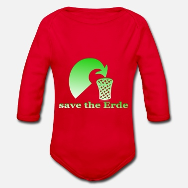 Save The Planet save the planet - Baby Bio Langarmbody