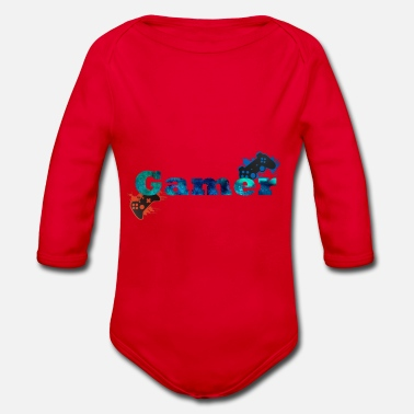 Console Consoles Gamer - Organic Long-Sleeved Baby Bodysuit