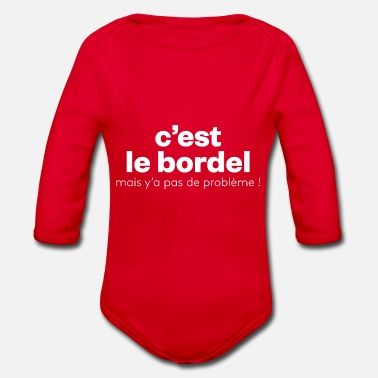 Bordell Das Bordell - Baby Bio Langarmbody