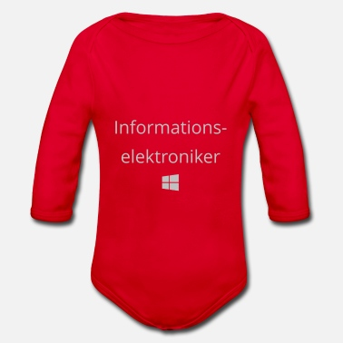 Windows Informationselektroniker Windows - Baby Bio Langarmbody