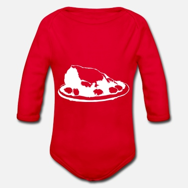 Roast roast meat - Organic Long-Sleeved Baby Bodysuit