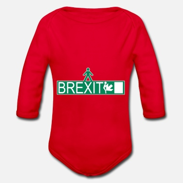Brexit BREXIT 001 - Organic Long-Sleeved Baby Bodysuit