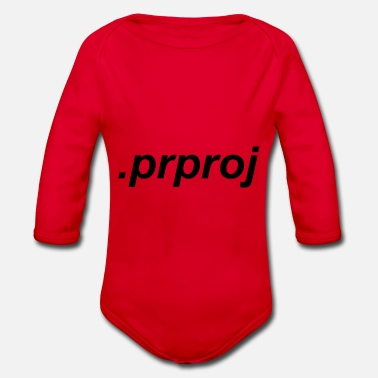 Premier Premiere Project File Name - Organic Long-Sleeved Baby Bodysuit