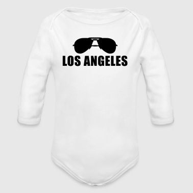 Coole Los Angeles Sonnenbrille - Baby Bio-Langarm-Body