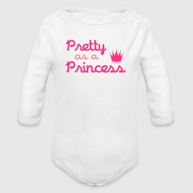 Pretty As A Princess - Body bébé bio manches longues