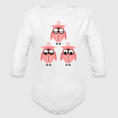Waking up - Organic Longsleeve Baby Bodysuit