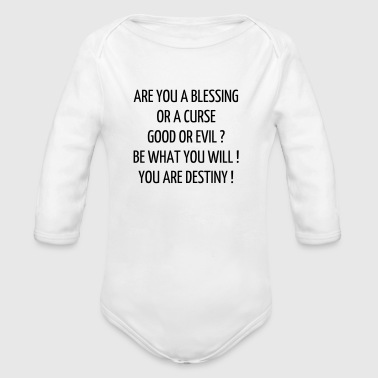 Quote / Gaming / Geek / Gamer / Computer / Game - Organic Longsleeve Baby Bodysuit