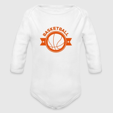 Basketball - Basket Ball - Game - Sport - Player - Body bébé bio manches longues