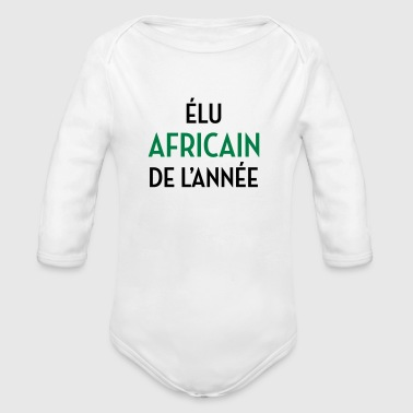 Africa / African / africa / africano - Body ecologico per neonato a manica lunga