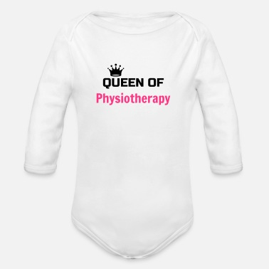 Physio Physiotherapy Physio Krankengymnast Kiné Doctor - Organic Longsleeve Baby Bodysuit