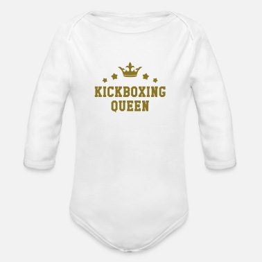 Kicker Kickboxing / Kick-Boxeur / Kick Boxing / Kick-Boxing - Body bébé bio manches longues