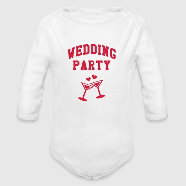 Wedding Party - Økologisk langermet baby-body