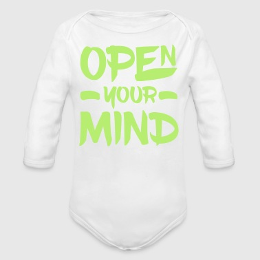 Open Your Mind - Body bébé bio manches longues