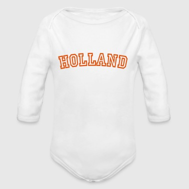 holland - Økologisk langermet baby-body