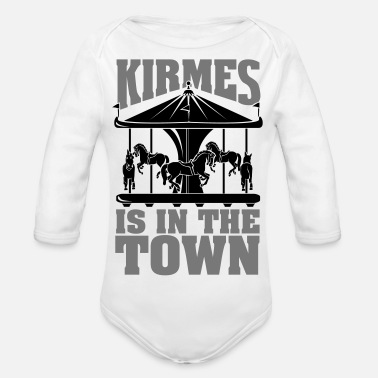 Cranger Kirmes Kirmes is in the Town - Baby Bio Langarmbody