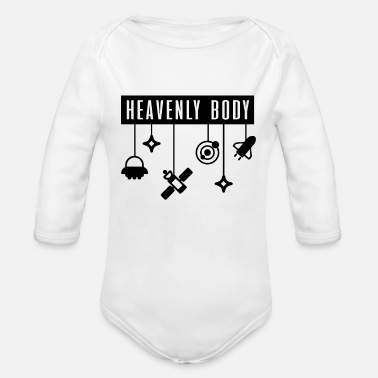 Missile Missile - Organic Long-Sleeved Baby Bodysuit