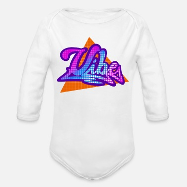 Vibe Vibe - Organic Long-Sleeved Baby Bodysuit