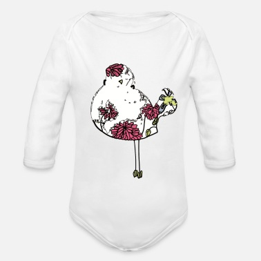 Woodstock Bunter Woodstock Vogel - Baby Bio-Langarm-Body