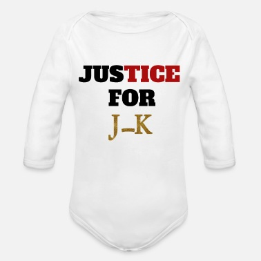 Jk Justice for JK - Organic Long-Sleeved Baby Bodysuit