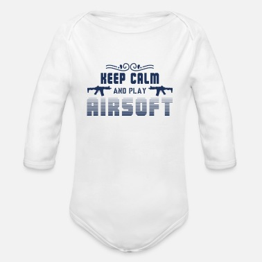 Airsoft Weapon Softair Airsoft Airsoft Squad Airsoft Game - Organic Long-Sleeved Baby Bodysuit