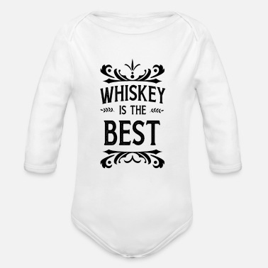 Whisky whisky - Body Bébé bio manches longues