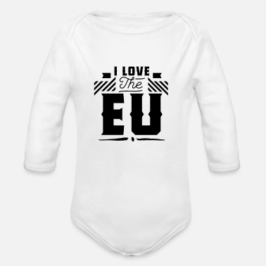 Europe Europe Europe Europe Europe - Body Bébé bio manches longues