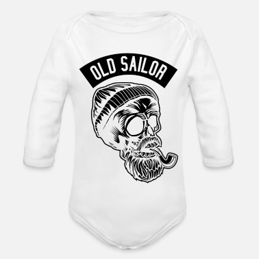 Old Maid Old Sailor - Baby Bio Langarmbody